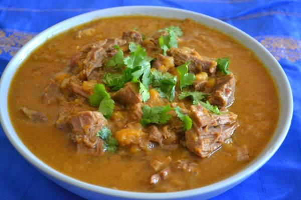 Apricot Lamb Curry Recipe