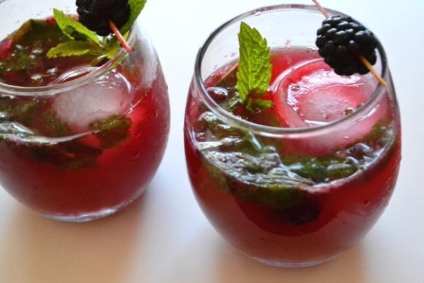 Blackberry Mojito Drink Recipe