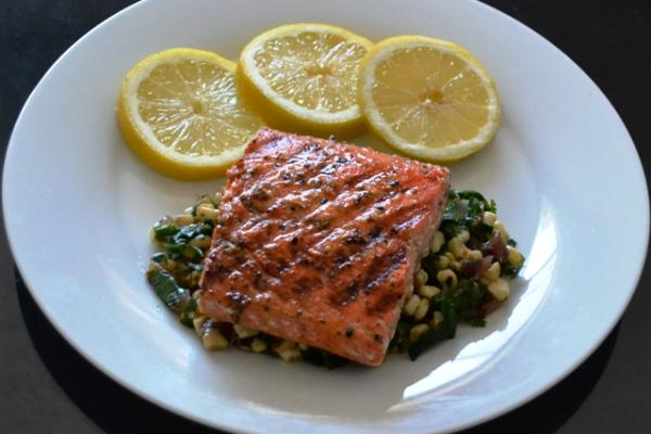 Cajun-style Grilled Salmon Cooking Recipe