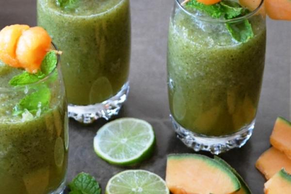 Cucumber Melon Cooler Drink Recipe