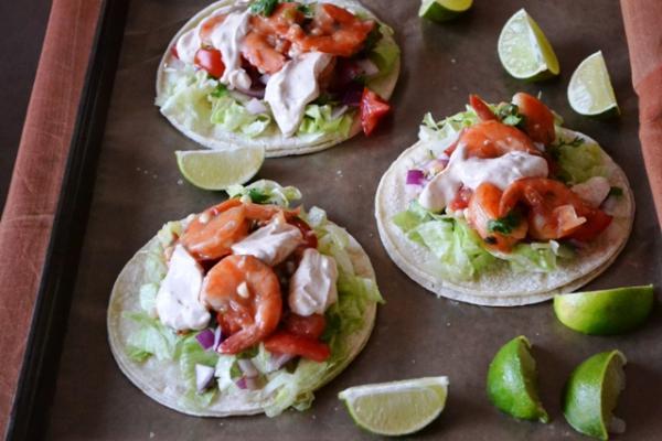 Fiesta Shrimp Tacos Cooking Recipes