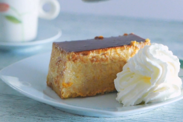 Pumpkin Flan Baking Recipe