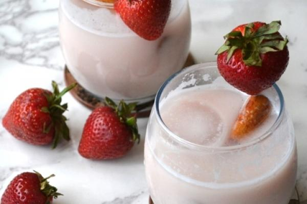 Strawberry Horchata Cooking Recipe