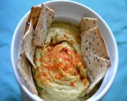 Avocado Hummus Dip Recipe