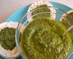 Basil Walnut Pesto Cooking Recipe