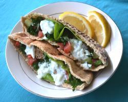 Berbere Lamb Patties w/ Garlic Sauce Cooking Recipe