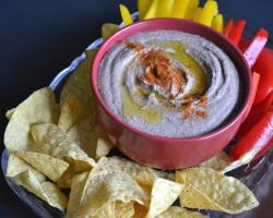 Black Bean Hummus Cooking Recipe