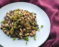 Black-eyed peas with Wild Rice (Hoppin John) Cooking Recipe