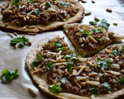 Palestinian-style Ground Chicken w/ Sumac & Onions Cooking Recipe