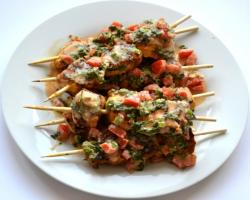 Dutch West Indian Chicken Kebabs (Boka Dushi) Cooking Recipe