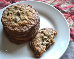 Gluten Free Gingerbread Chocolate Chip Cookies Baking Recipe