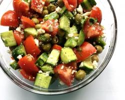 Greek Peasant Salad Recipe