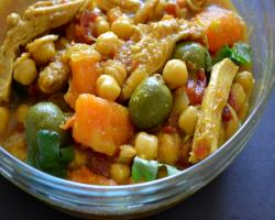 Slow Cooker Moroccan Chicken Tangine w/ Butternut Squash Cooking Recipe
