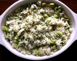 Persian Dill & Lima Bean Rice (Baghali Polo) Cooking Recipe