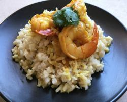 Prawn Curry with Coconut Milk Cooking Recipe