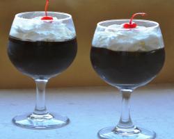 Red Wine Chocolate Mousse Dessert Recipe
