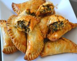 Spinach & Salmon Hand Pies Baking Recipe
