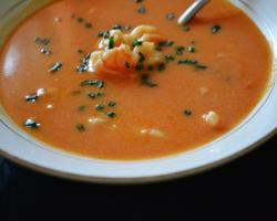 Shrimp Bisque Soup Cooking Recipe