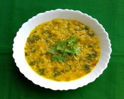 Spinach Lentils  Cooking Recipe