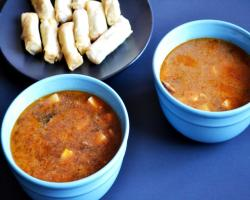 Hot and Sour Soup Cooking Recipe