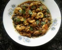 Tamarind Mint Prawn Curry Cooking Recipe