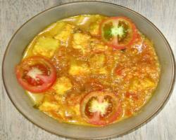 Tomato & Paneer Curry Cooking Recipe