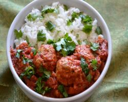 Turkey Kofta Curry Cooking Recipe