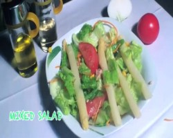 Ensalada Mixta (Mixed Green Salad) Recipe Video