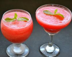 Watermelon Daiquiri Drink Recipe