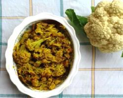 Sweet & Tangy Cauliflower Recipe