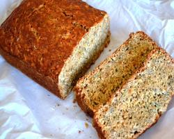 Zucchini Sweet potato Quick Bread w/ Chia Seeds Baking Recipe