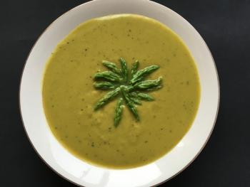 Asparagus soup Cooking Recipe