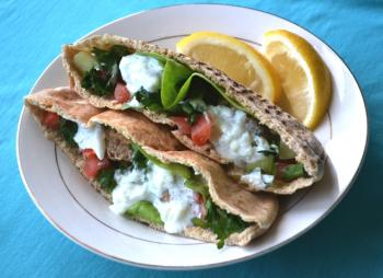 Berbere Lamb Patties w/ Garlic Sauce Cooking Recipe