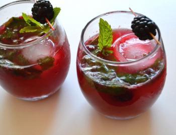Blackberry Mojito Drink Recipe