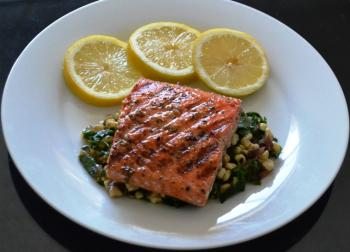 Cajun-style Grilled Salmon Cooking Recipe