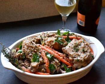 Champagne Browned Butter Chicken Cooking Recipe