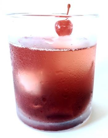 Cherry Old Fashioned Drink Recipe