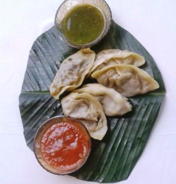 Chicken Momo Dumplings Cooking Recipe