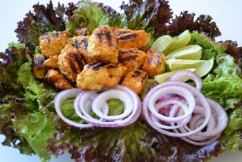 Grilled Chicken Tikka Cooking Recipe