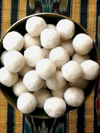 Coconut Cardamom Balls Cooking Recipe