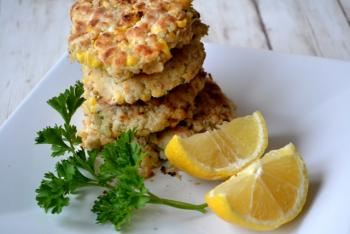 Crab & Corn Cakes Cooking Recipe