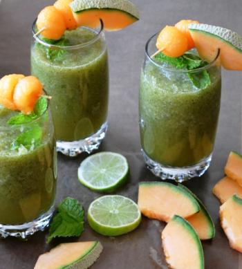 Cucumber Melon Cooler Drink Recipe