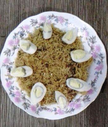 Cumin & Onion Rice Cooking Recipe