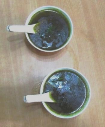Eel Soup Cooking Recipe