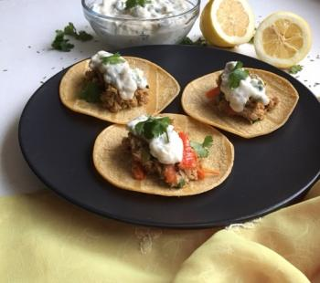 Fish Tacos w/ Yogurt Chutney Cooking Recipe
