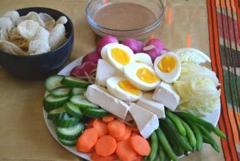 Indonesian Gado Gado Cooking Recipe