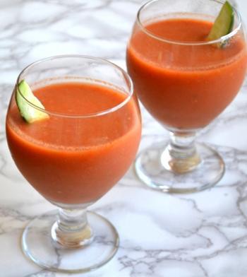 Gazpacho Bloody Mary Drink Recipe