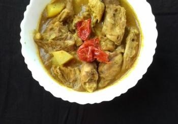 Chicken with Ghost Pepper Cooking Recipe