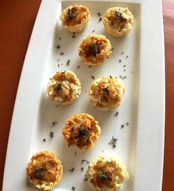Caramelized Onion & Goat Cheese Tartlets - 2 ways Cooking Recipe 2 ways