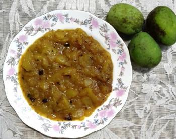 Green Mango Chutney Cooking Recipe